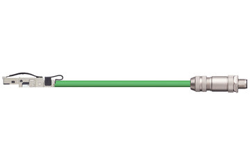 readycable® bus cable suitable for B&R iX67CA0E41.xxxx, base cable PUR 12.5 x d