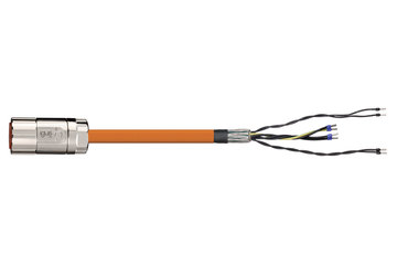 readycable® servo cable acc. to Elau standard E-MO-11 SH-Motor 2.5, base cable PUR 7.5 x d