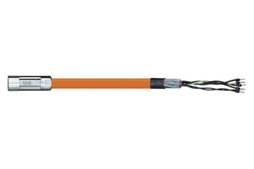 readycable® motor cable acc. to Parker standard iMOK57, base cable PUR 10 x d