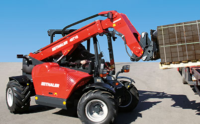 Telescopic forklift